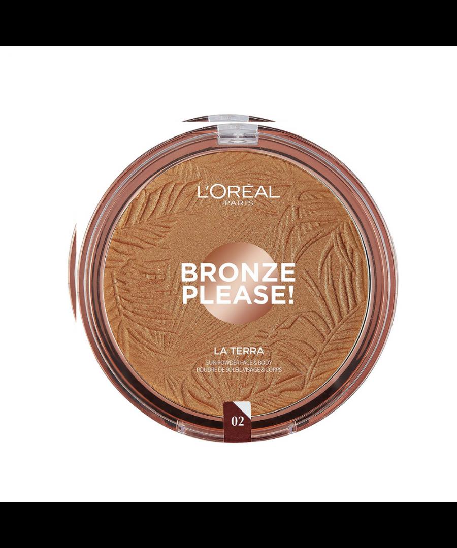 Image for L'Oreal Bronze Please! La Terra Sun Powder Face & Body - 02 Capri-Naturale