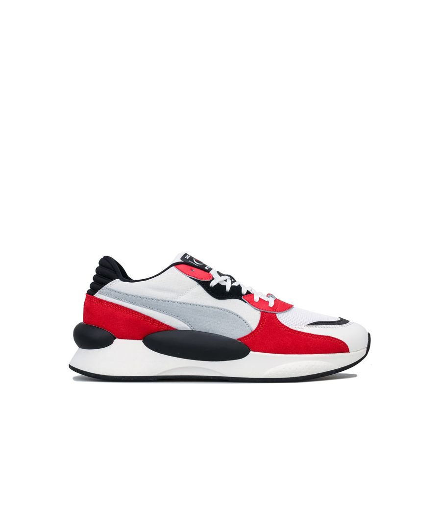 Image for Men's Puma RS 9.8 Space Trainers in White red
