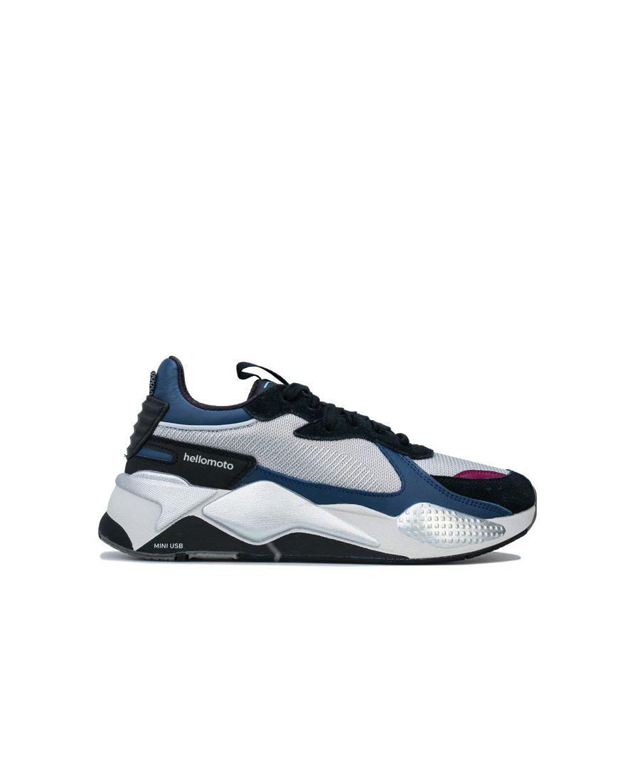 Image for Women's Puma RS-X Tech Motorola Trainers in Silver blue