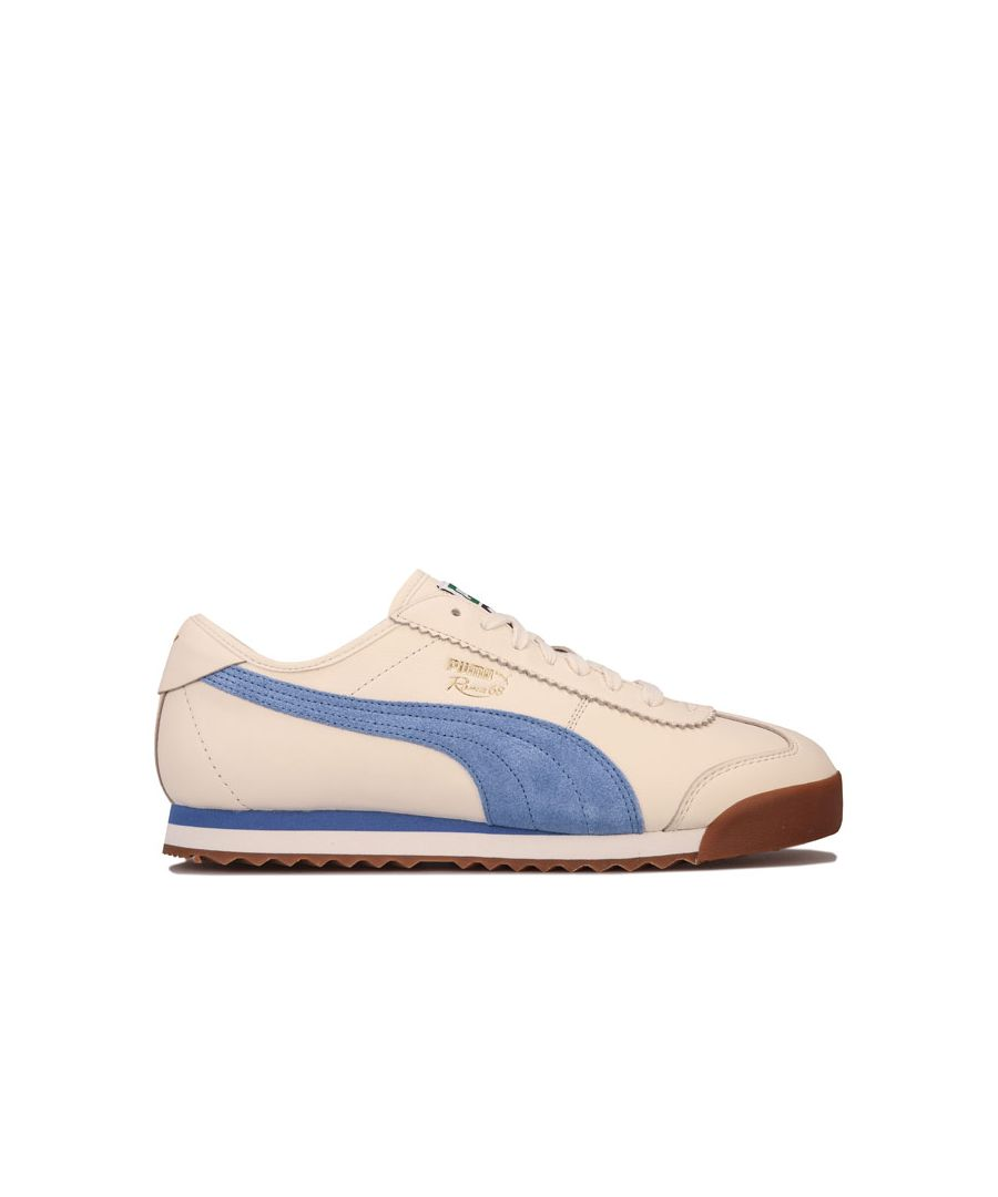 Image for Men's Puma Roma 68 OG Trainers in White blue