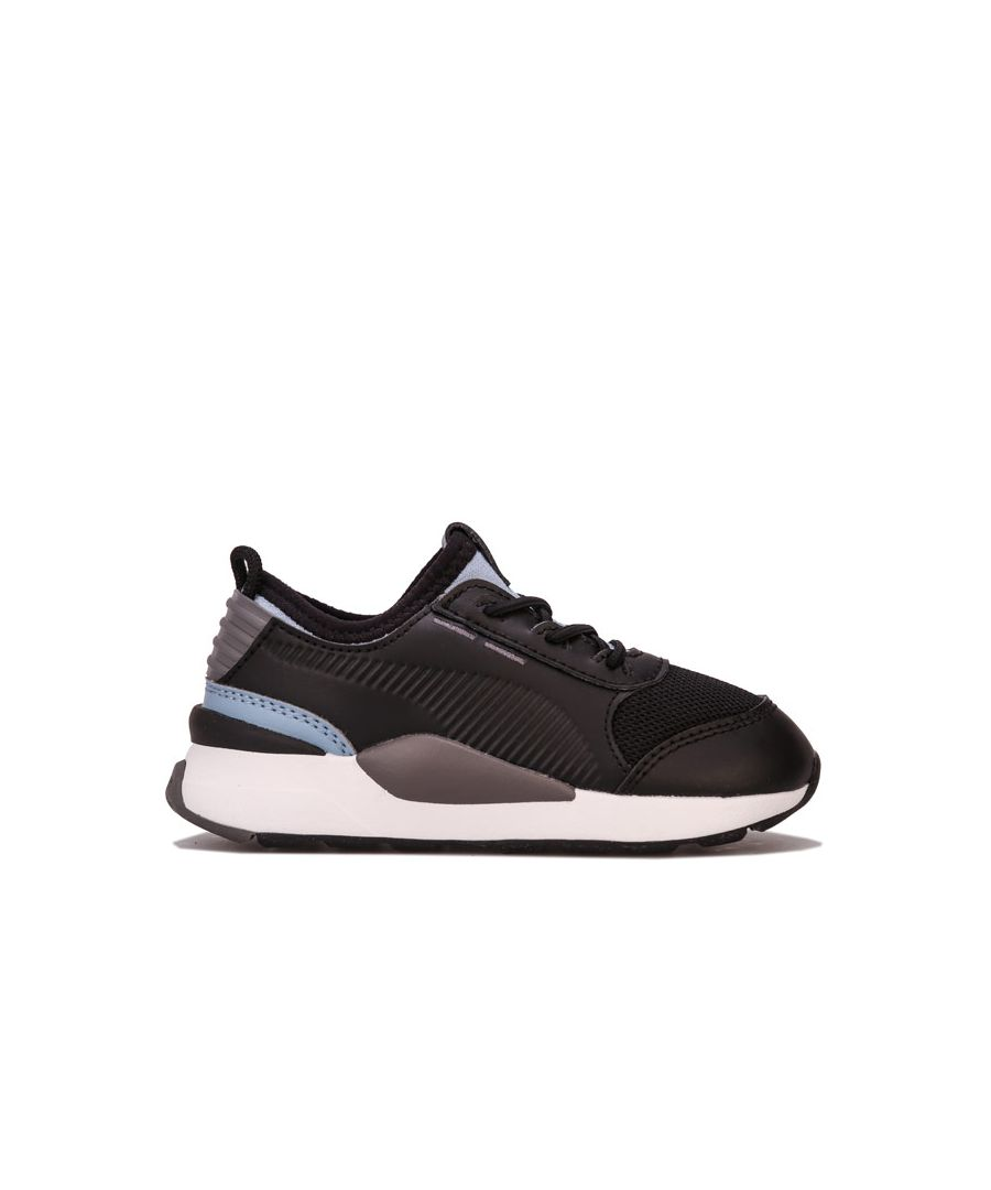 Image for Boy's Puma Infant RS-0 Smart Trainers in Black