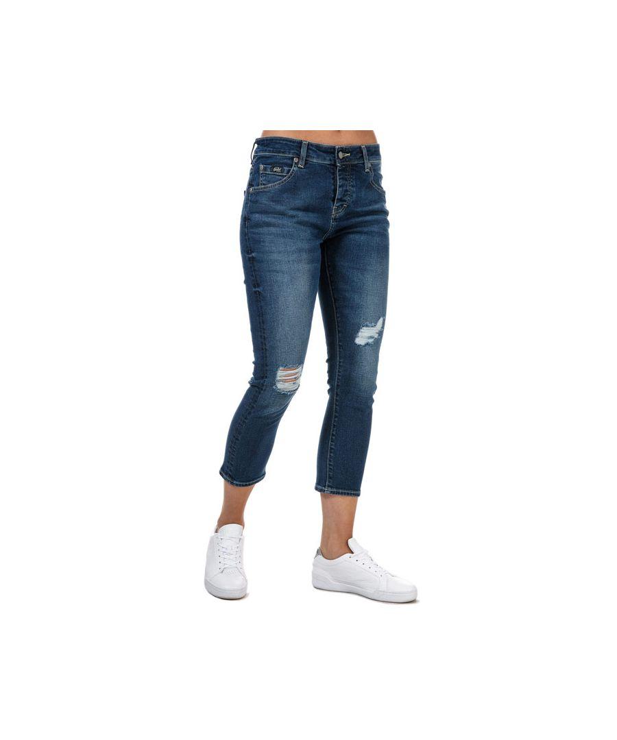 Image for Women's Superdry Riley Girlfriend Jeans in Denim