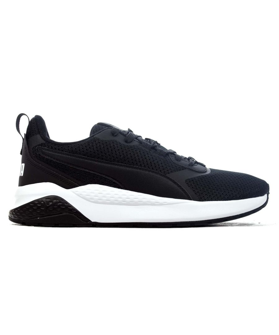 Image for Puma Anzarun FS Mens Running Trainer Black - UK 8