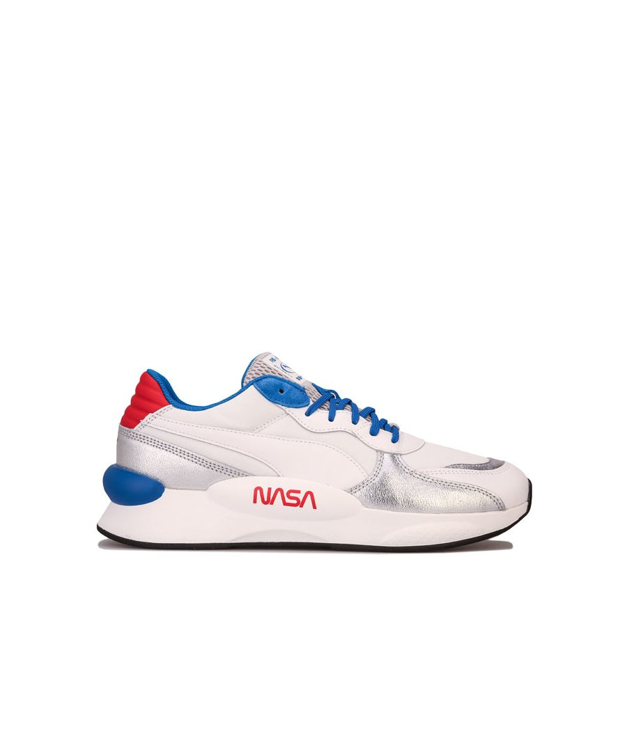 Image for Men's Puma RS 9.8 Space Agency Trainers in White silver