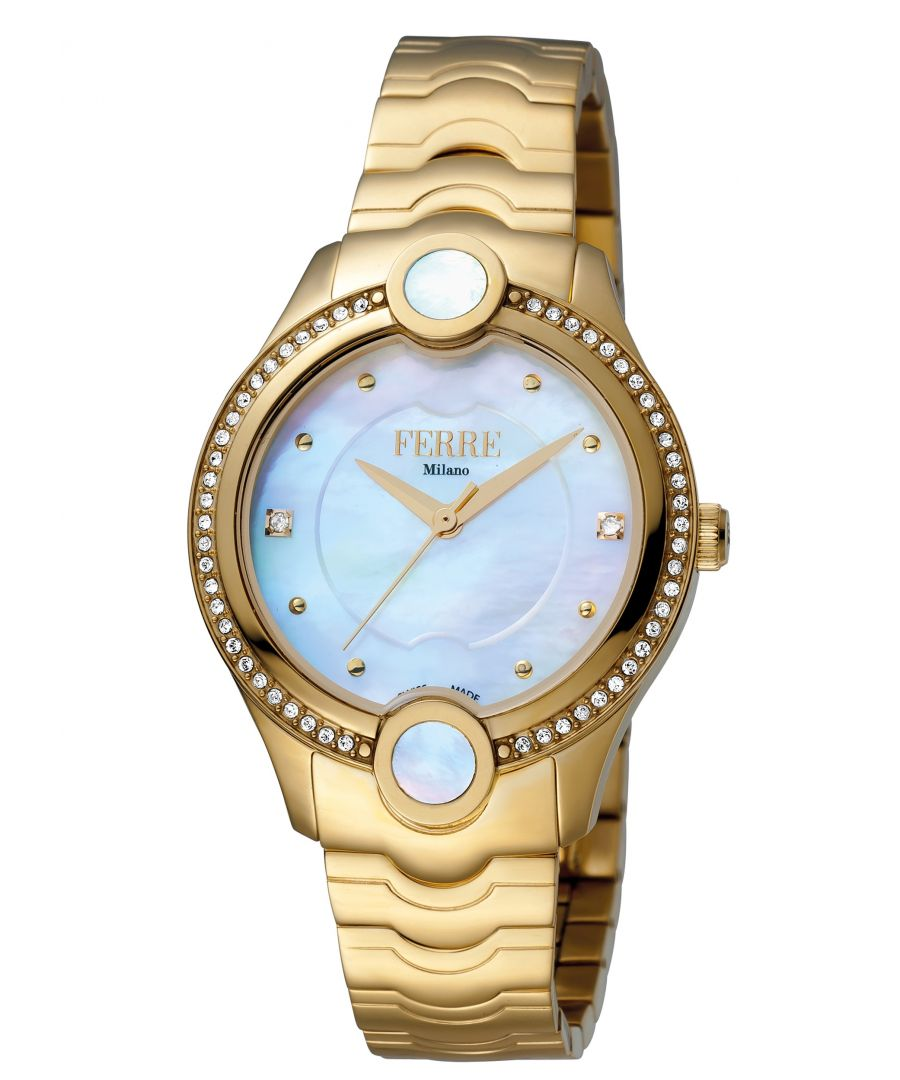 Image for Ferre Milano FM1L082M0021 Womens Silver Dial Stainle Steel  Watch