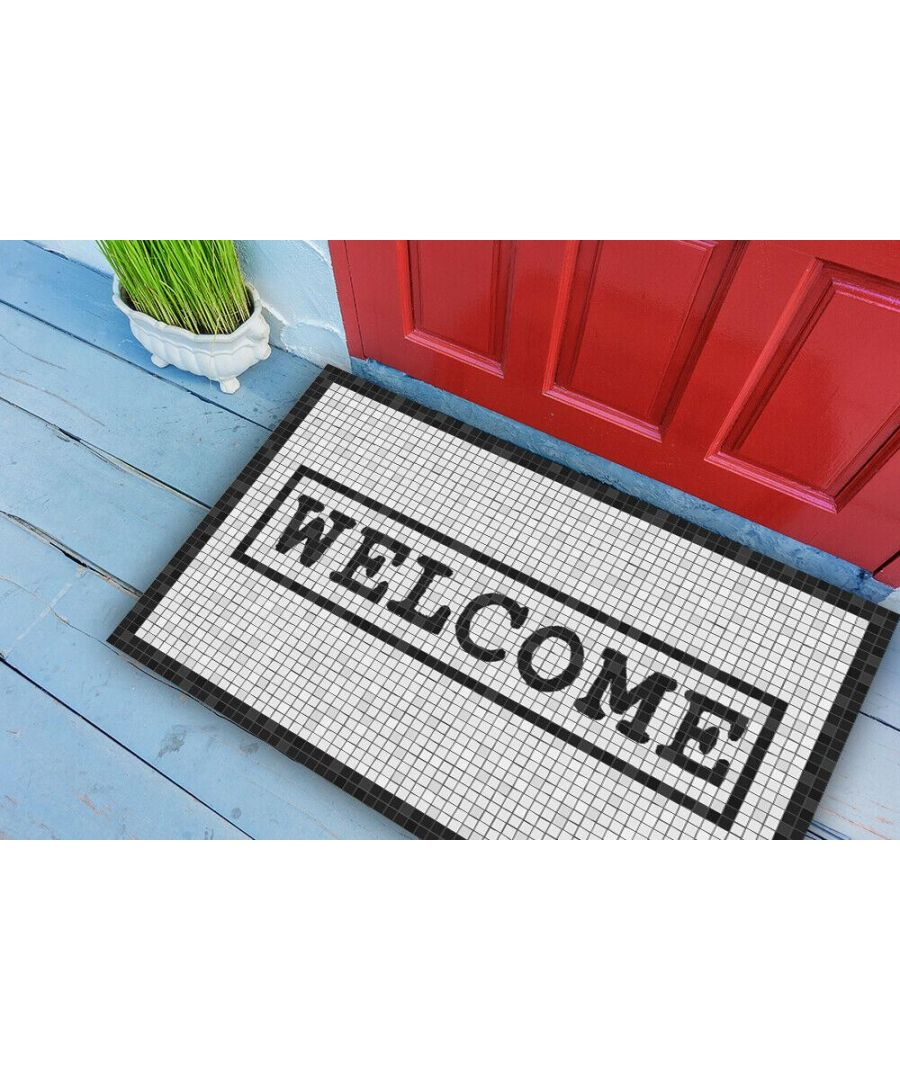 Image for Entrance Welcome Mat 49.5 x 83 cm Floor Mats, Floor Rugs