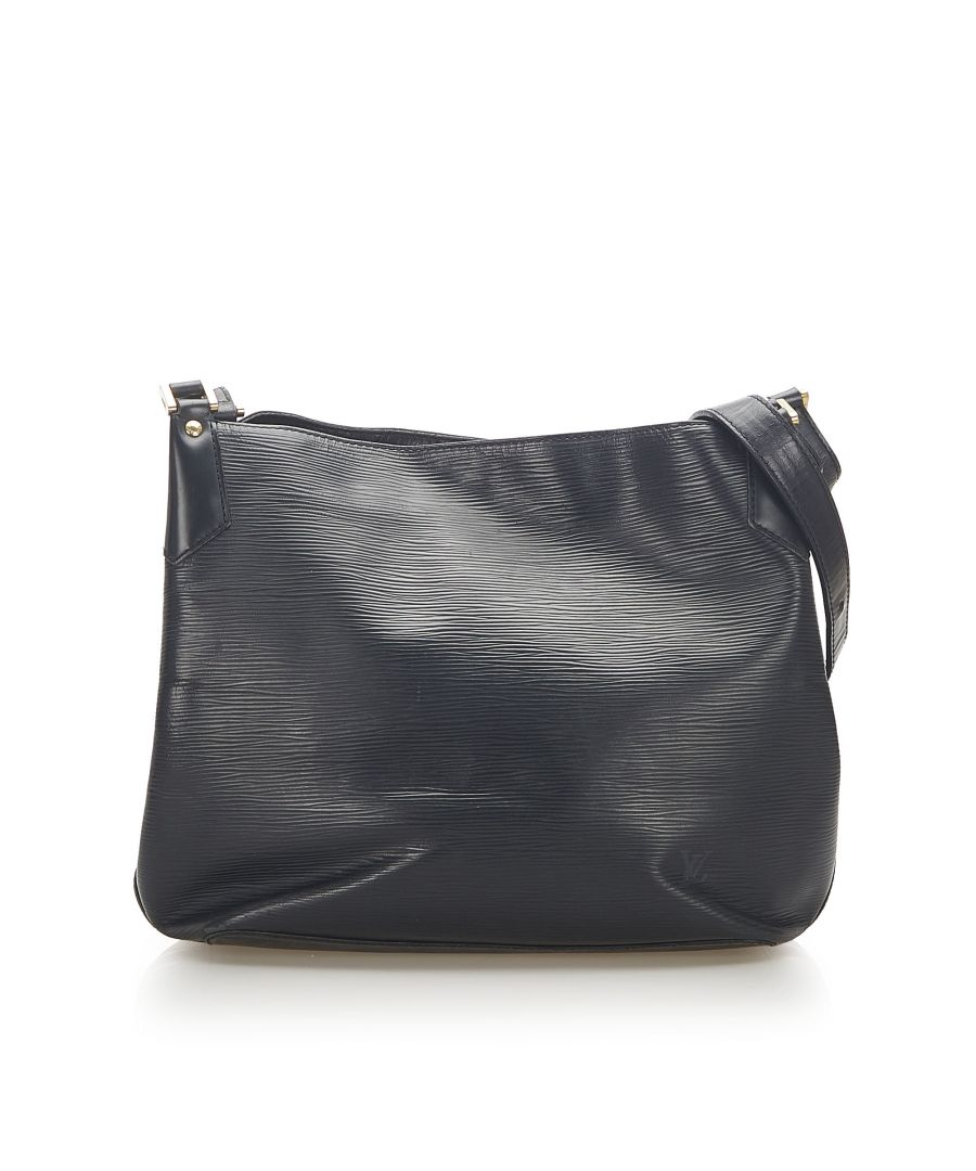 Image for Vintage Louis Vuitton Epi Mandara GM Black