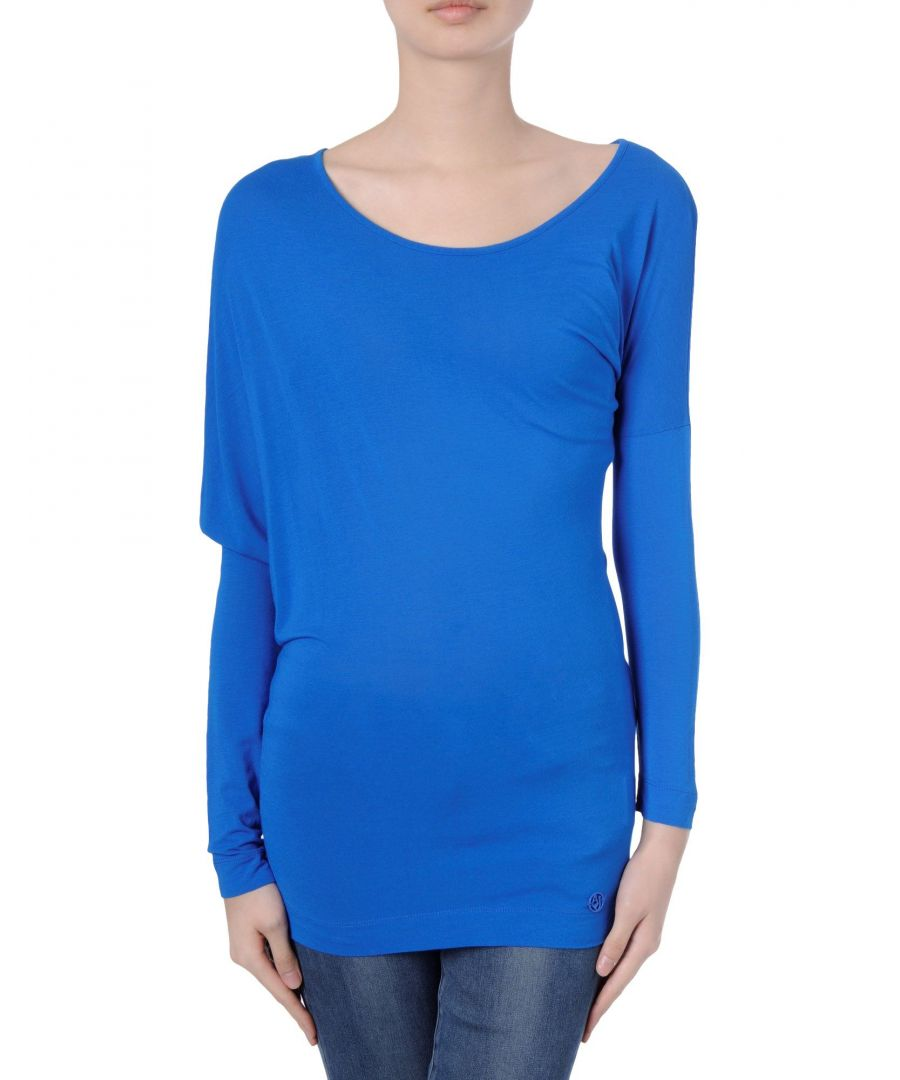 Image for Armani Jeans Blue Long Sleeve T-Shirt