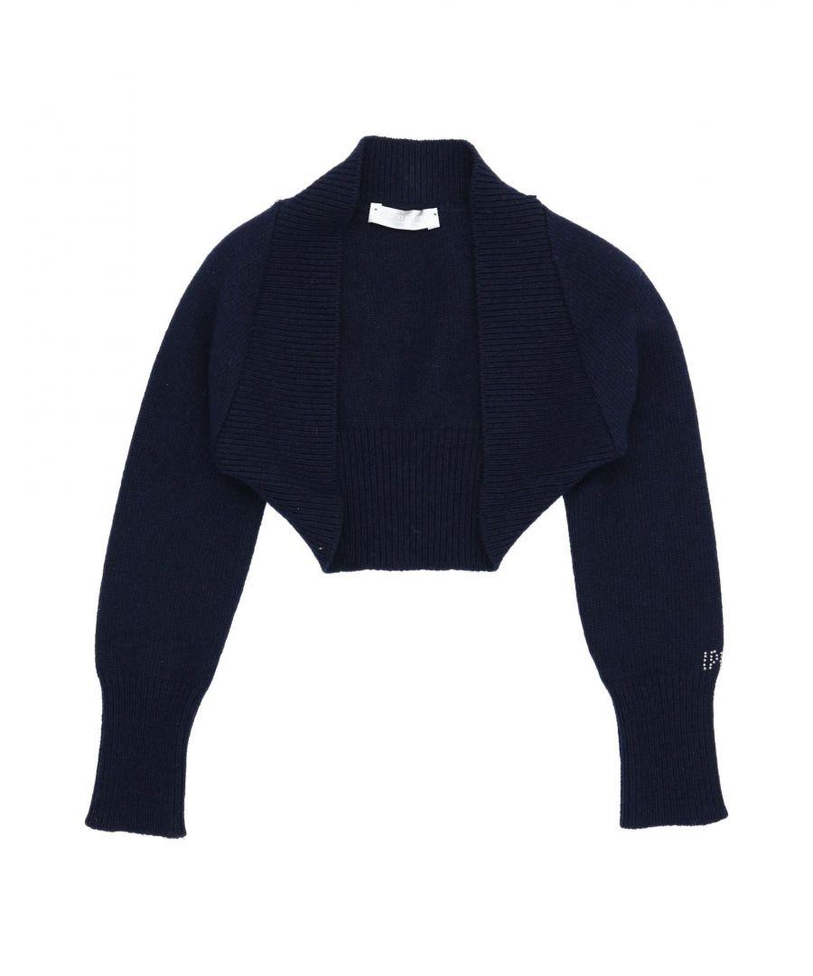 Image for I Pinco Pallino Girl Shrugs Dark blue Wool