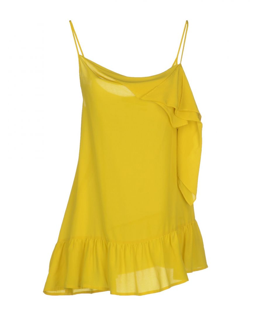 Image for Erika Cavallini Acid Green Silk Camisole