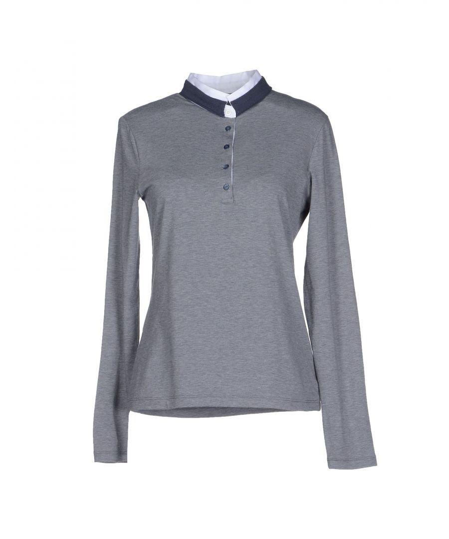 Image for Pme Peserico Woman Polo shirts Grey Cotton