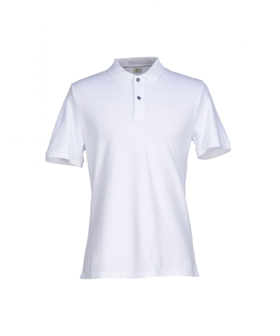 Image for Cerruti 1881 White Cotton Short Sleeve Polo Shirt