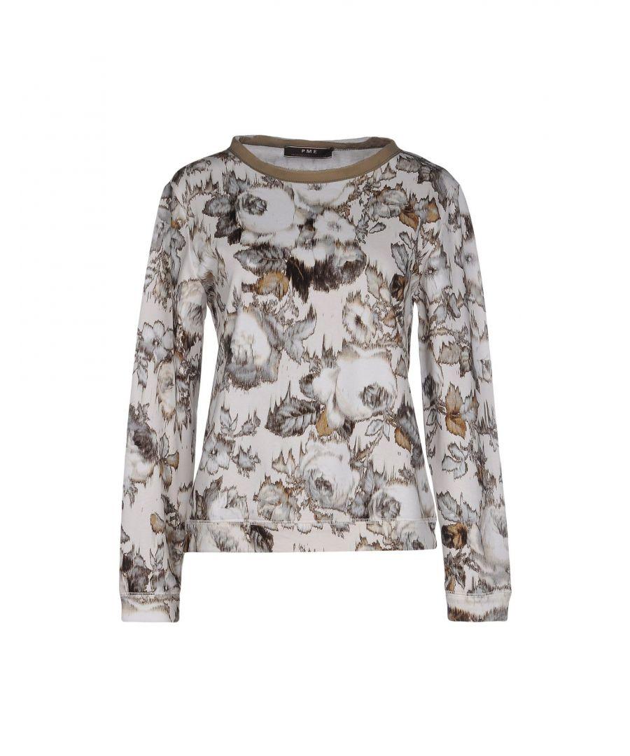 Image for Pme Peserico Woman Sweatshirts Ivory Cotton