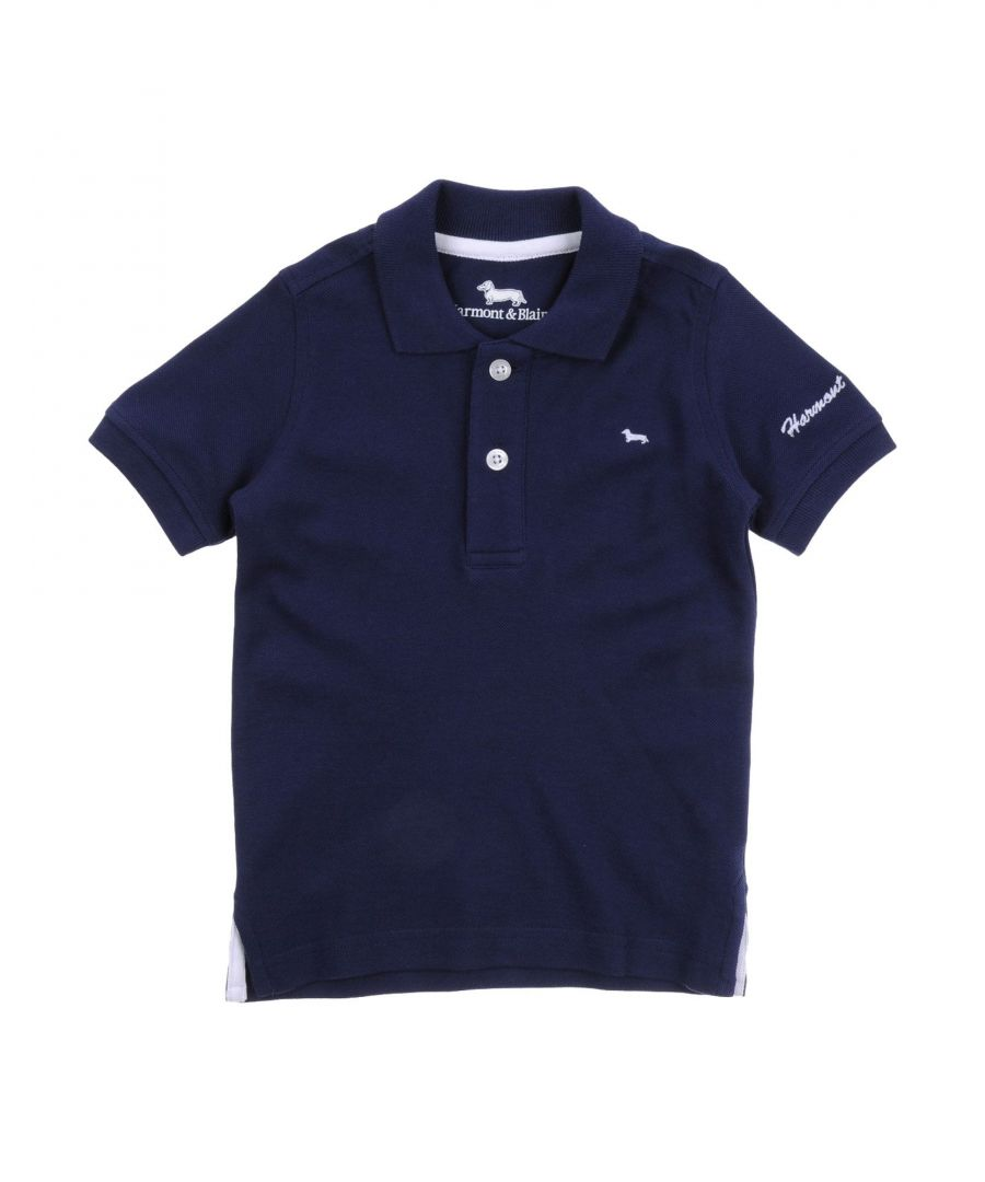 Image for TOPWEAR Harmont&Blaine Dark blue Boy Cotton
