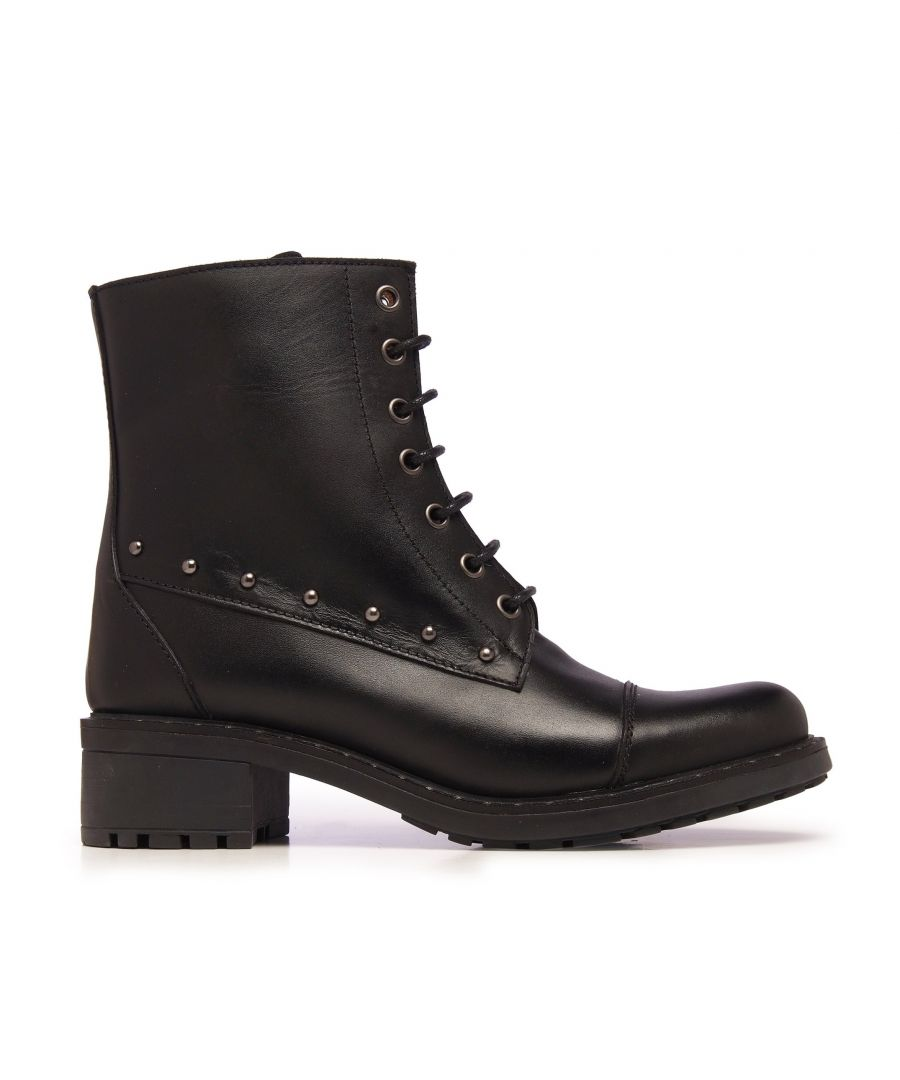 Image for Leather Boots Laces Woman