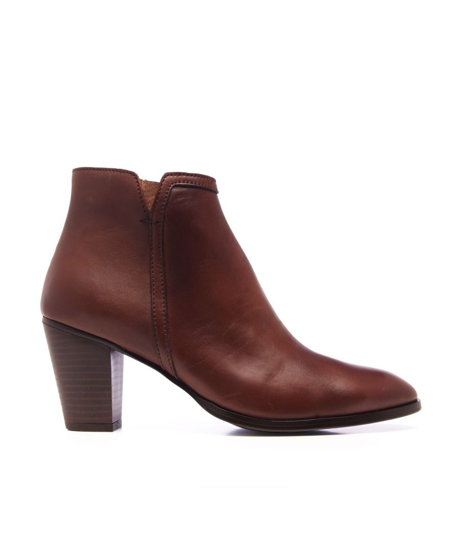 Image for Leather Ankle Boots Heel