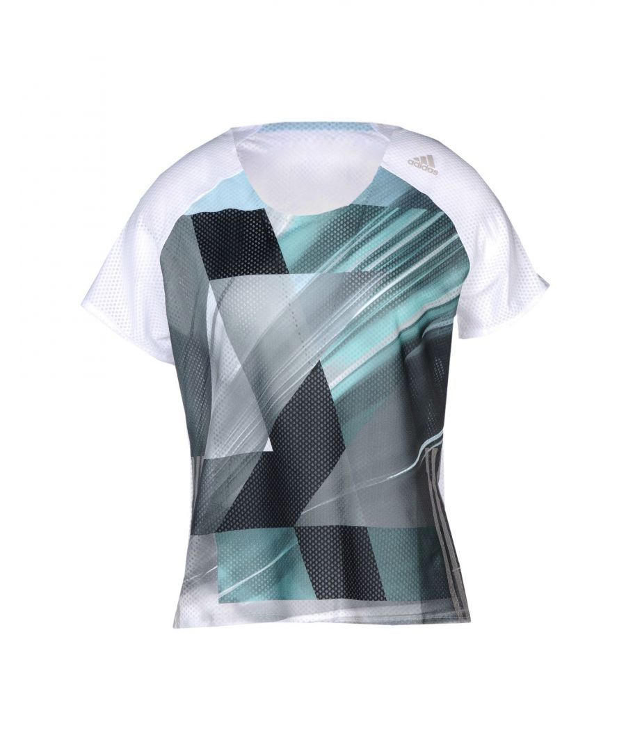 Image for Adidas White Polyester T-shirts
