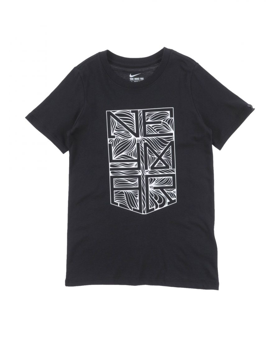 Image for TOPS & TEES Nike Black Boy Cotton