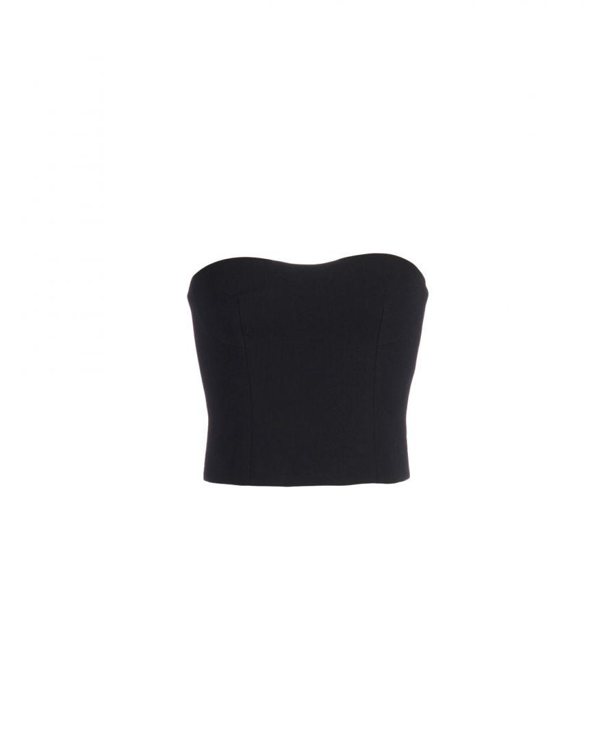 Image for Stella McCartney Black Wool Strapless Top
