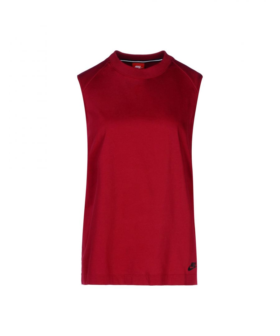 Image for Nike Garnet Cotton Top