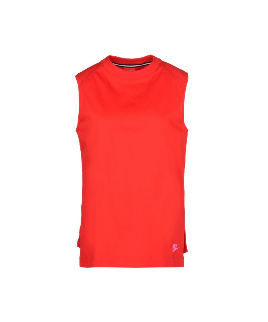 Image for Nike Red Cotton Top