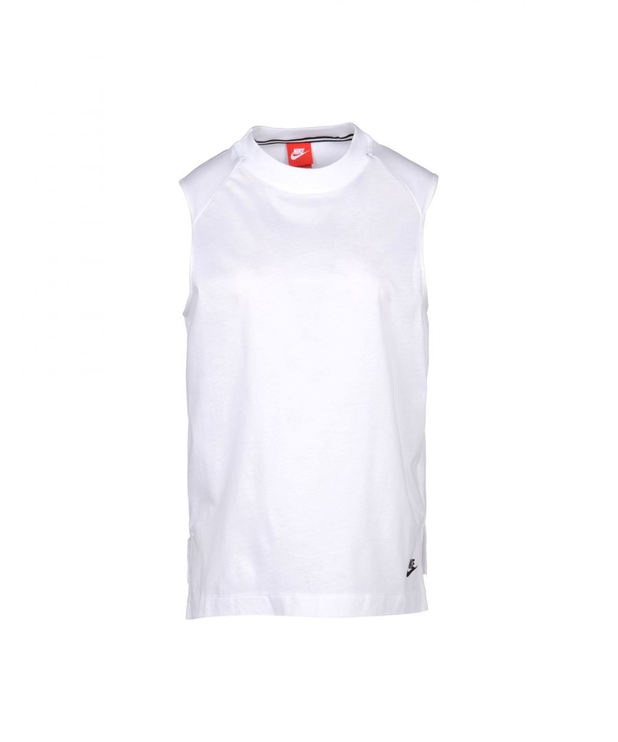 Image for Nike White Cotton Top