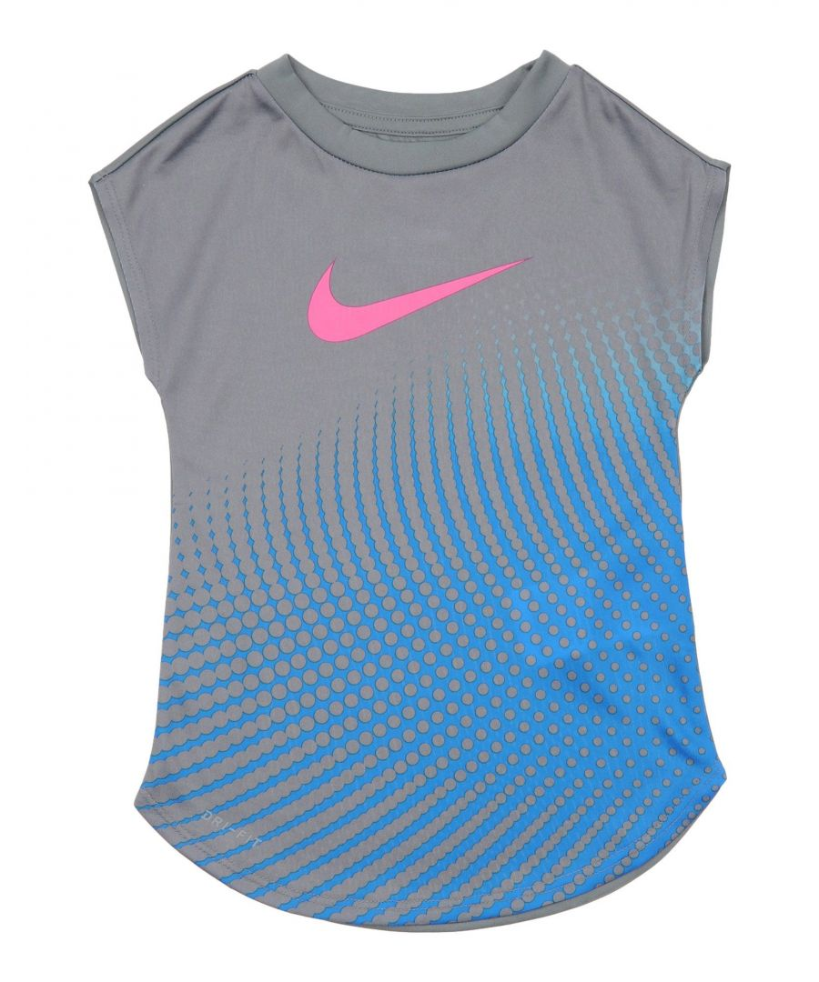 Image for Nike Grey Girl Polyester Top