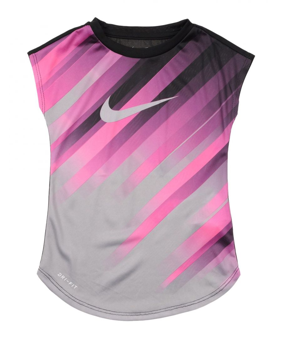 Image for TOPS & TEES Nike Black Girl Polyester