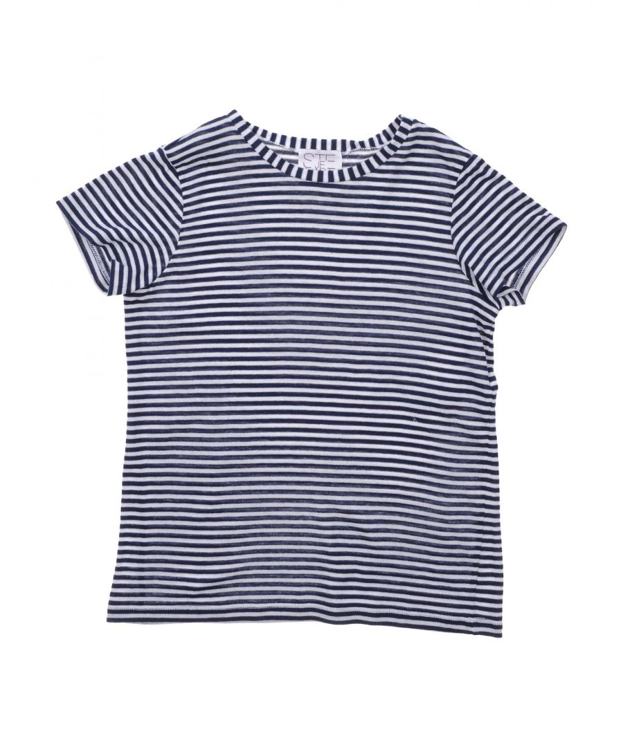 Image for Stella Jean Girl T-shirts Dark blue Cotton