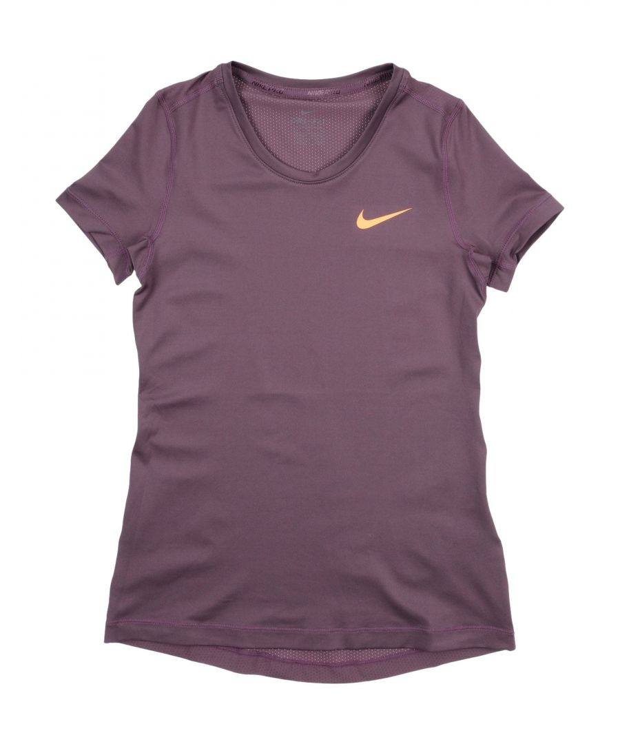 Image for TOPS & TEES Nike Purple Girl Polyester