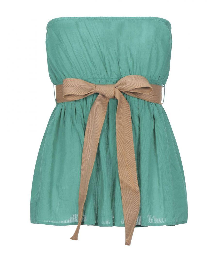 Image for TOPWEAR Woman ..,Merci Green Cotton