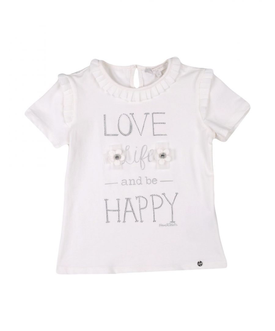 Image for TOPWEAR Silvian Heach Ivory Girl Cotton