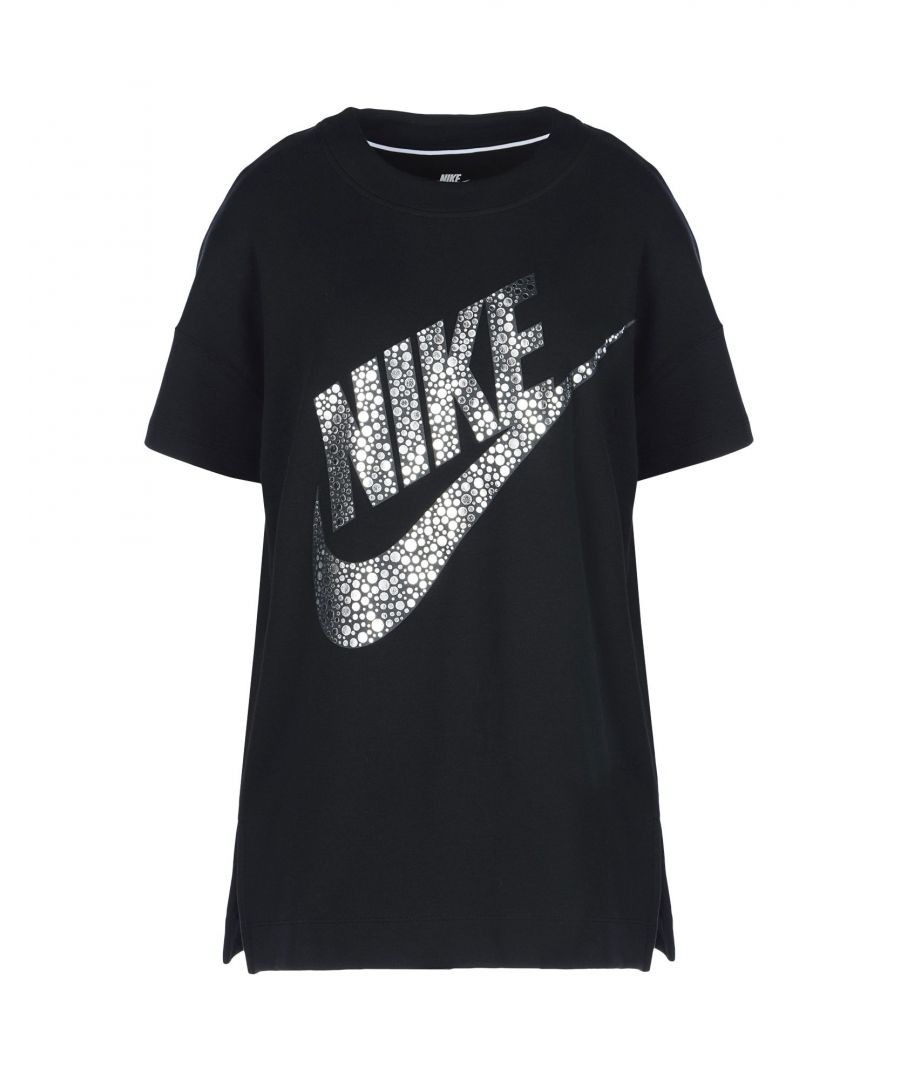 Image for Nike Black Cotton Logo T-Shirt