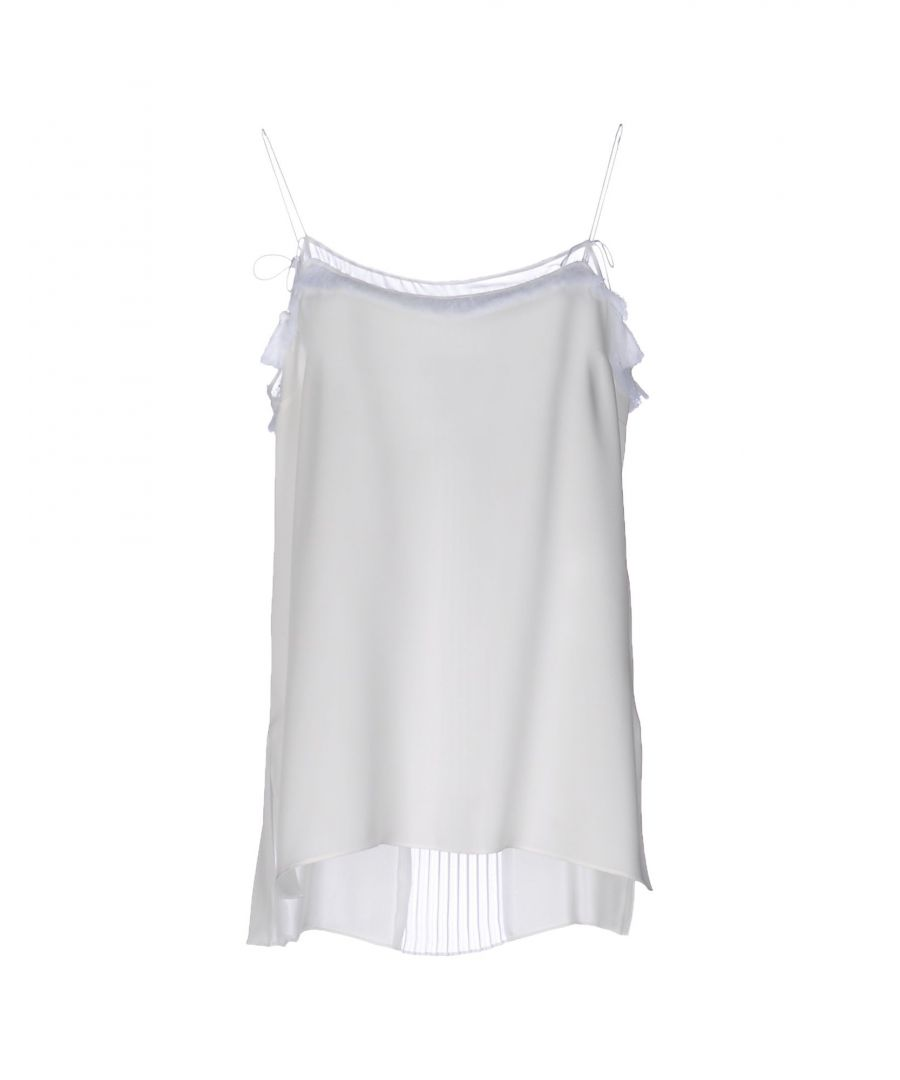 Image for Elie Tahari White Silk Camisole