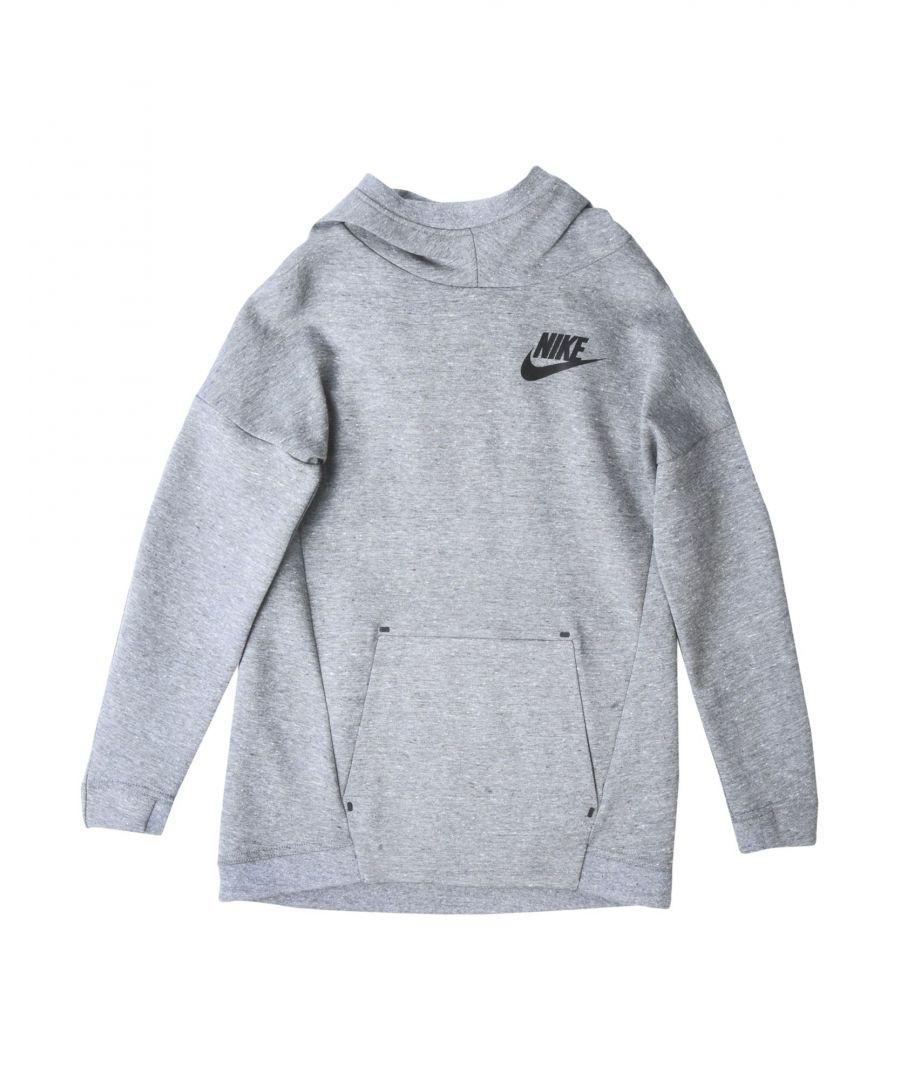 Image for Nike Grey Girl Cotton Sweatshirt
