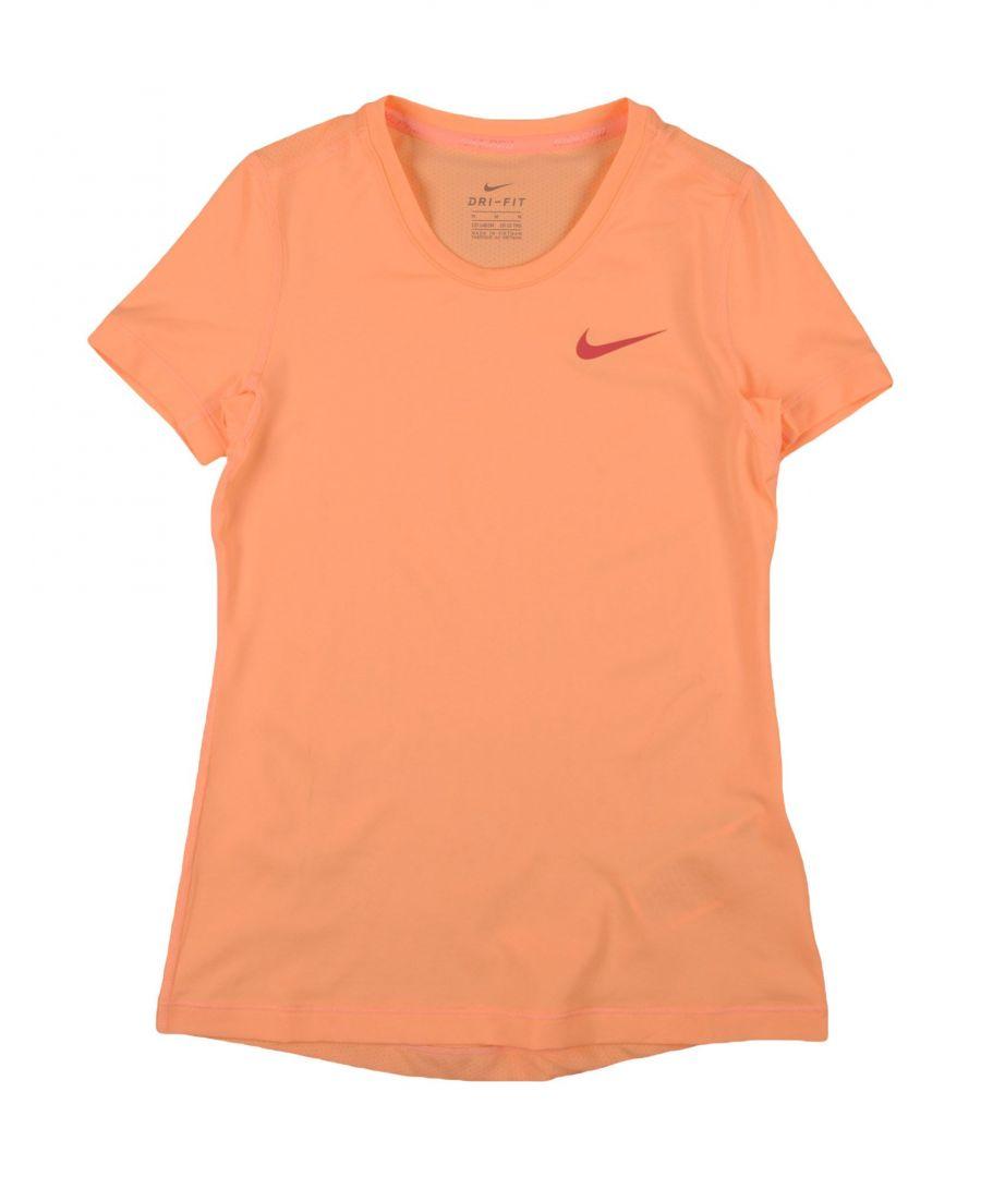 Image for Nike Orange Girl Polyester Top