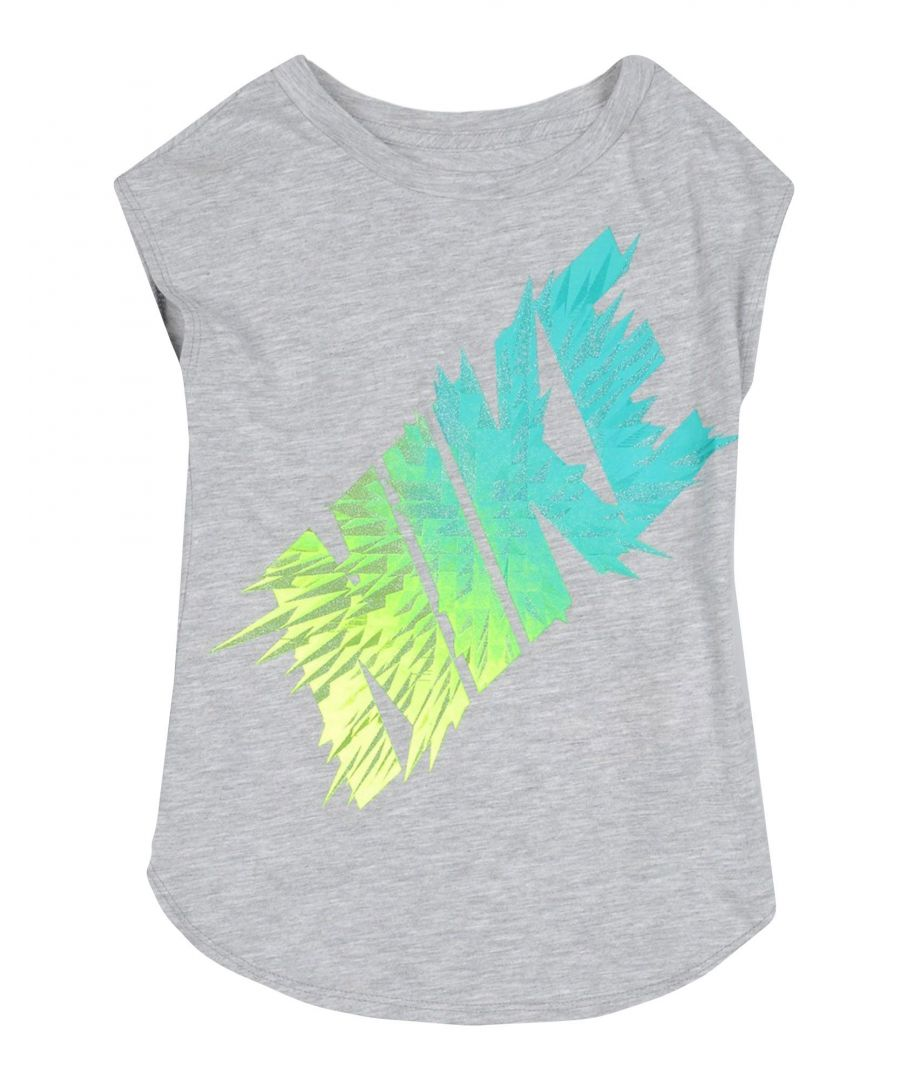 Image for TOPS & TEES Nike Grey Girl Cotton