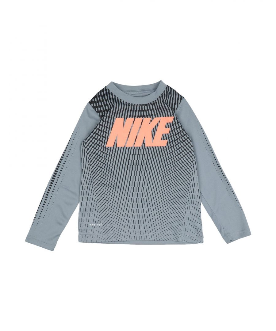 Image for TOPS & TEES Nike Grey Boy Polyester