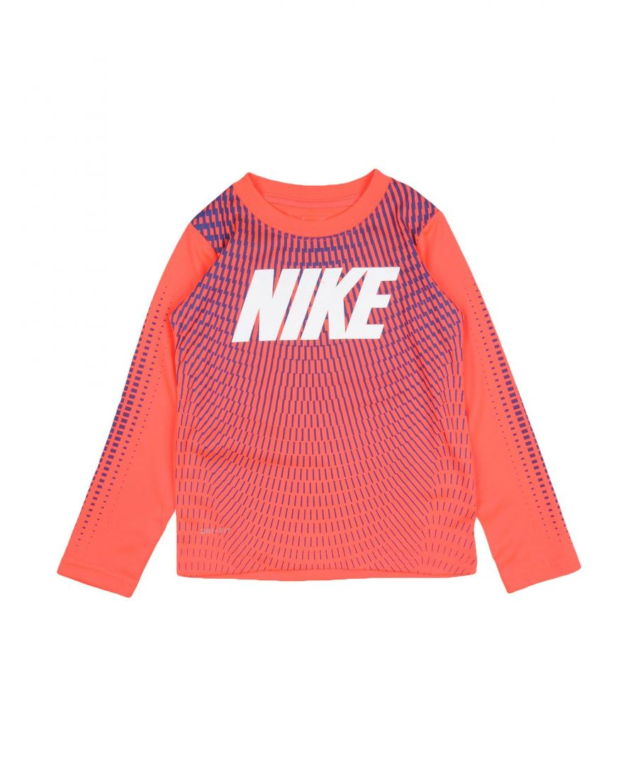 Image for Nike Pink Boy Polyester Top