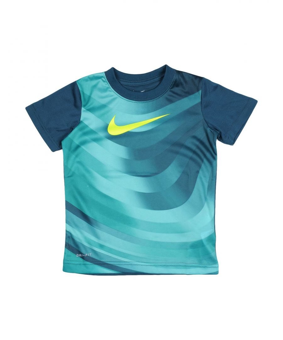 Image for TOPS & TEES Nike Green Boy Polyester