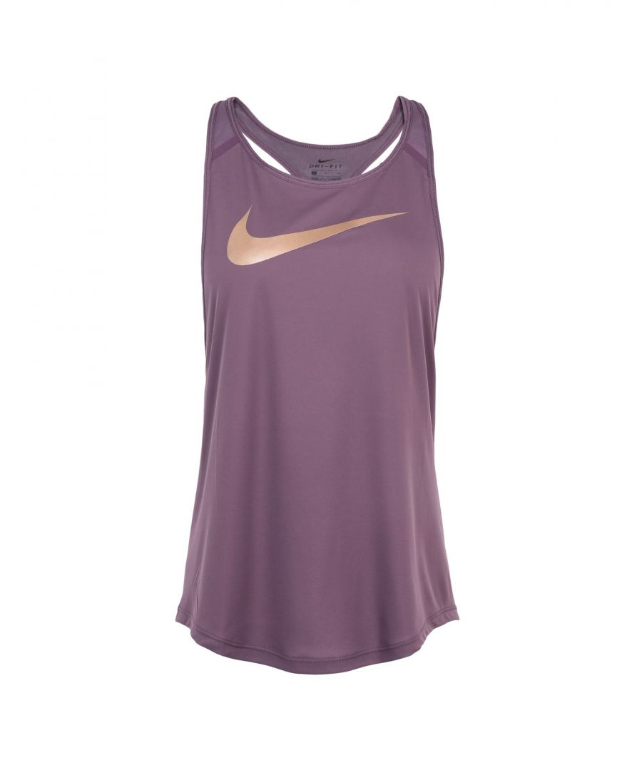 Image for Nike Mauve Polyester Top