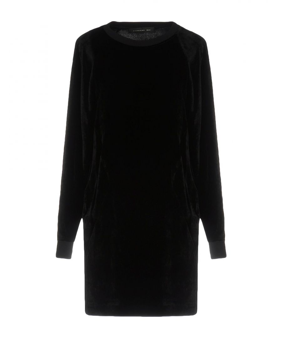 Image for Barbara Bui Black Long Sleeve Dress