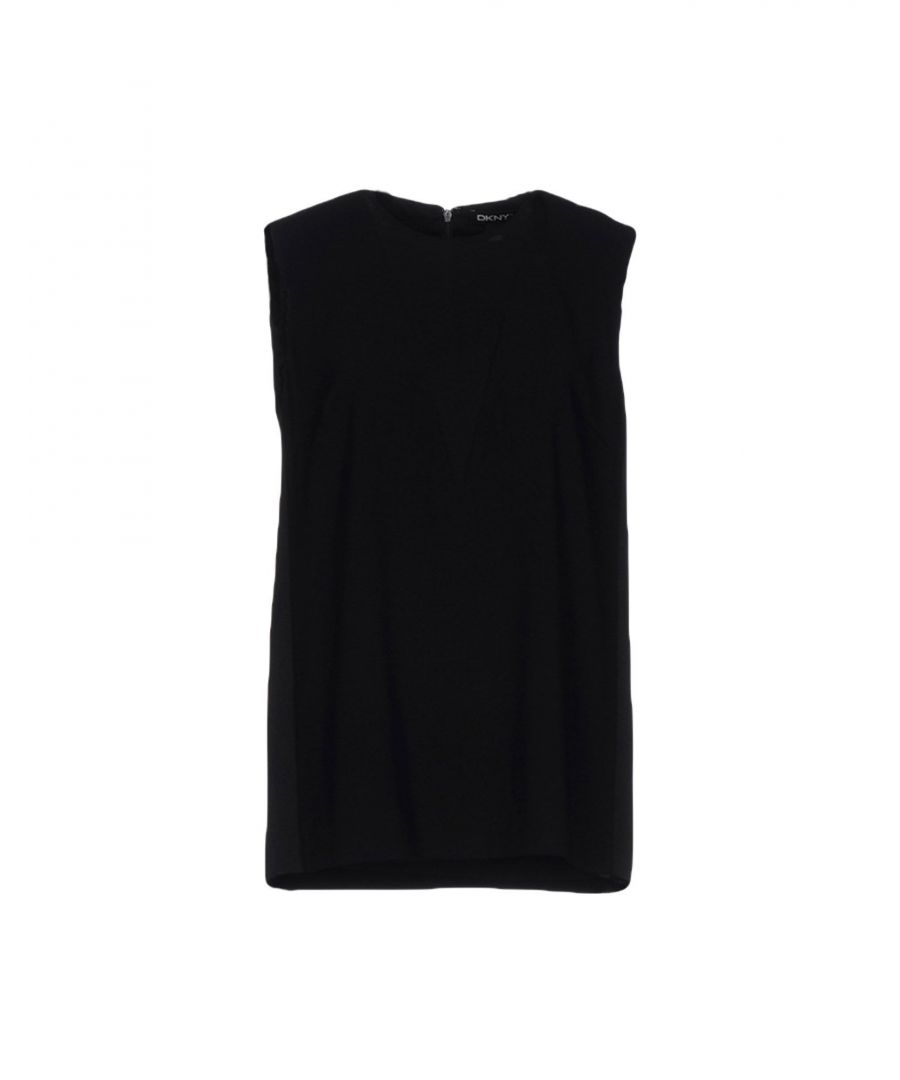Image for DKNY Black Sleeveless Top