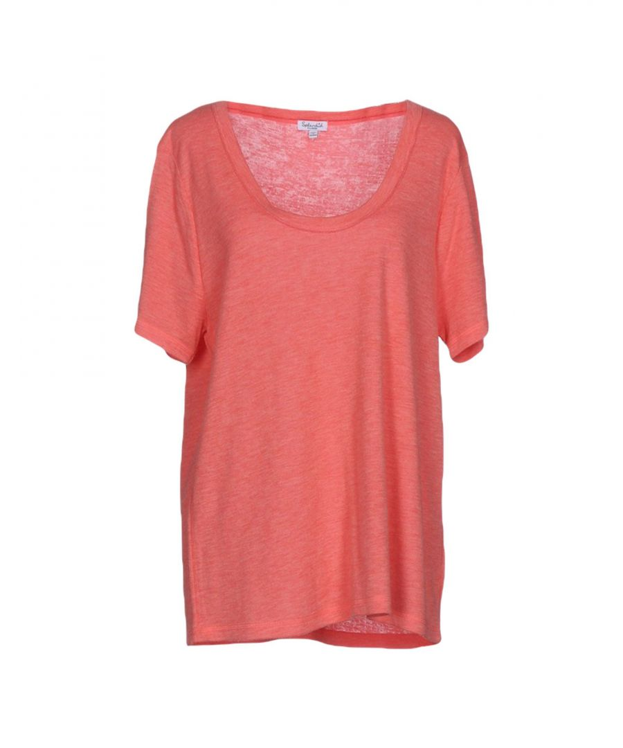 Image for Splendid Salmon Pink T-Shirt