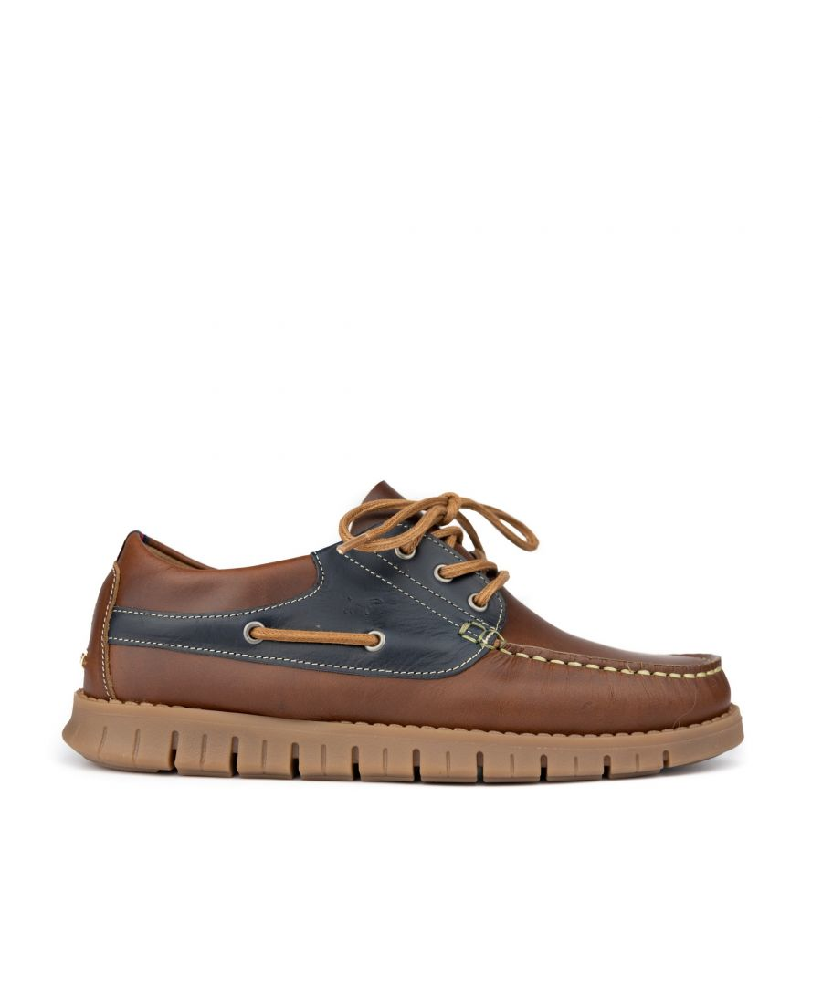 Image for Leather boat shoes