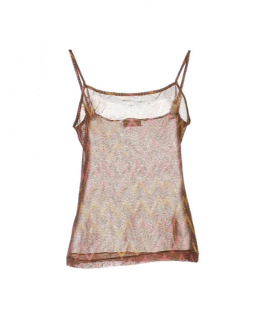 Image for Missoni Sport Brown Cotton Camisole