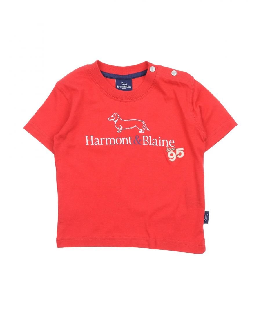 Image for TOPWEAR Harmont&Blaine Red Boy Cotton