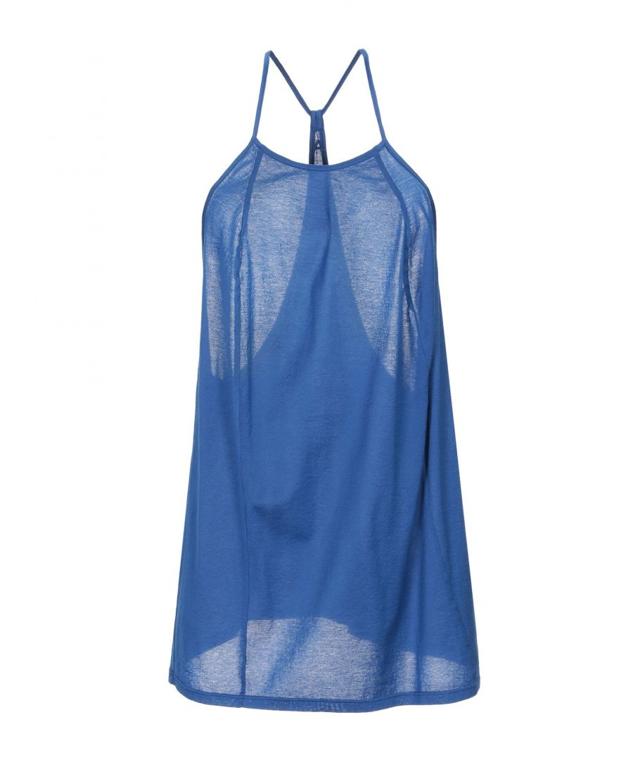 Image for Cycle Women's Top Blue Cotton