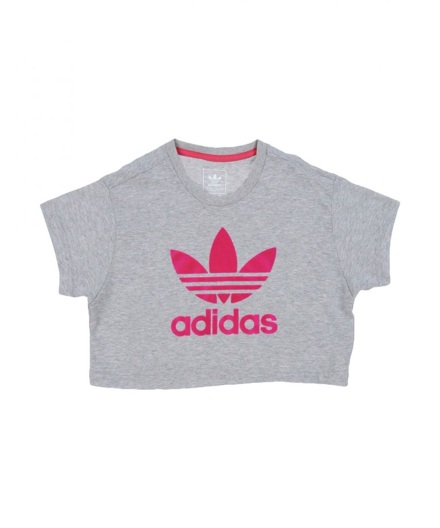 Image for TOPWEAR Adidas Originals Grey Girl Cotton