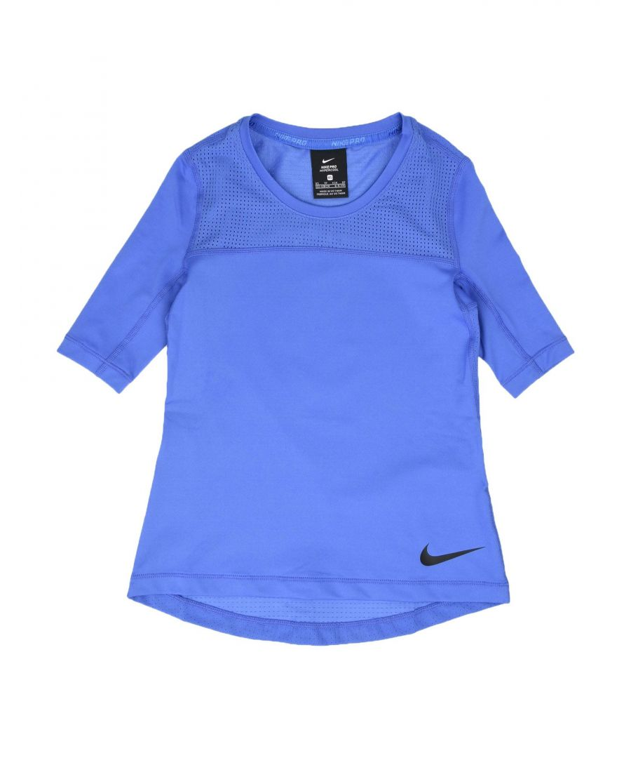 Image for TOPS & TEES Nike Blue Girl Polyester